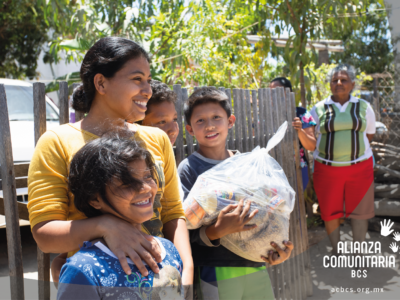 Alianza Comunitaria de Baja California Sur ha distribuido 12,941 despensas en los primeros 15 días