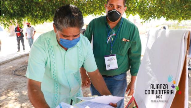 Alianza Comunitaria de BCS (ACBCS) Firma Convenio con el Ayuntamiento de Mulegé