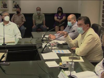 Quinta Sesión Extraordinaria de la Junta de Gobierno del Organismo Operador Municipal del Sistema de Agua Potable, Alcantarillado y Saneamiento de La Paz.